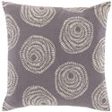 "Surya Pillows 20"" x 20"" Sylloda Pillow - Item Number: LJS001-2020P"
