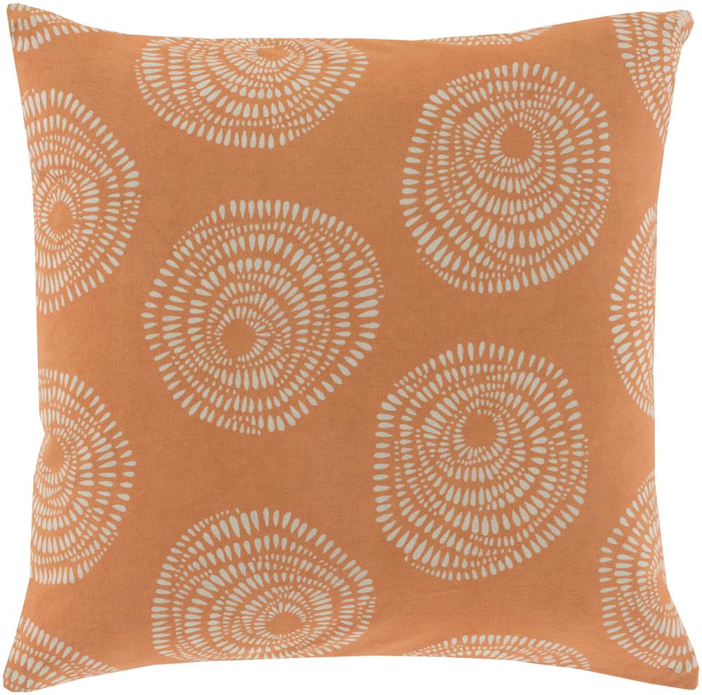"Surya Pillows 18"" x 18"" Sylloda Pillow - Item Number: LJS003-1818P"