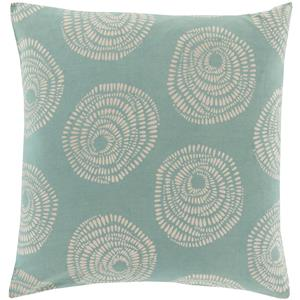 "Surya Rugs Pillows 18"" x 18"" Sylloda Pillow"