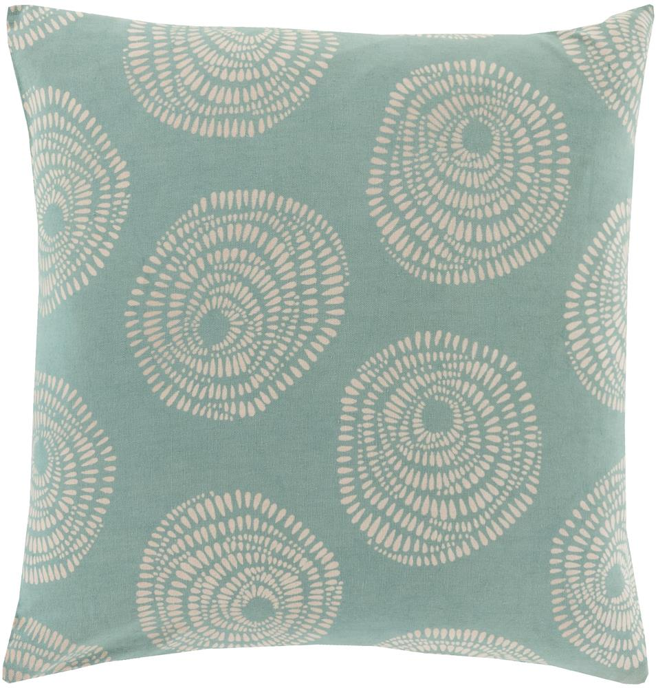 "Surya Pillows 20"" x 20"" Sylloda Pillow - Item Number: LJS005-2020P"