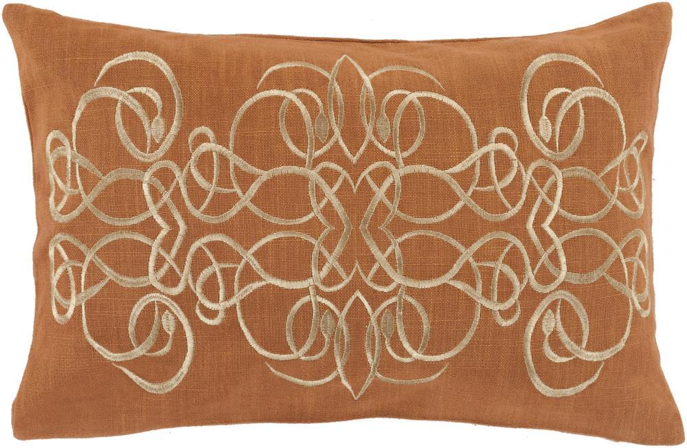 """Surya Rugs Pillows 13"""" x 20"""" Decorative Pillow - Item Number: LU001-1320P"""