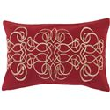 "Surya Pillows 13"" x 20"" Decorative Pillow - Item Number: LU002-1320P"