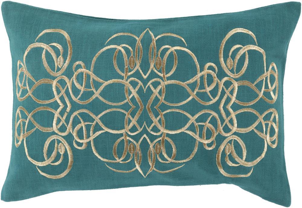 """Surya Rugs Pillows 13"""" x 20"""" Decorative Pillow - Item Number: LU003-1320P"""
