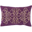 "Surya Pillows 13"" x 20"" Decorative Pillow - Item Number: LU004-1320P"