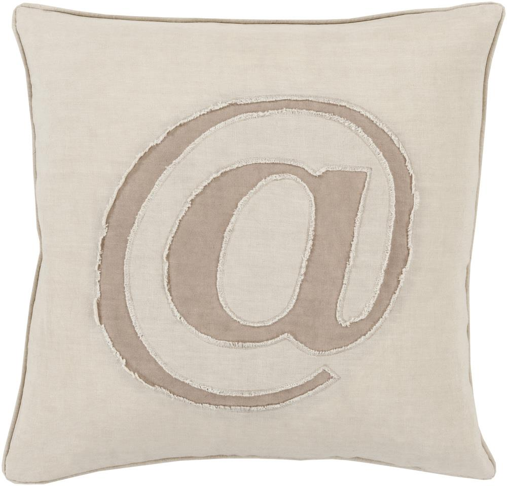 "Surya Pillows 22"" x 22"" Decorative Pillow - Item Number: LX001-2222P"