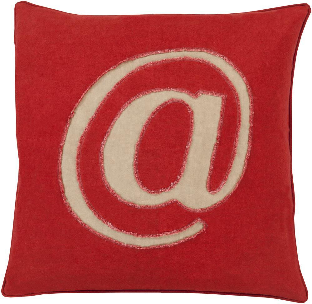 "Surya Rugs Pillows 20"" x 20"" Decorative Pillow - Item Number: LX002-2020P"