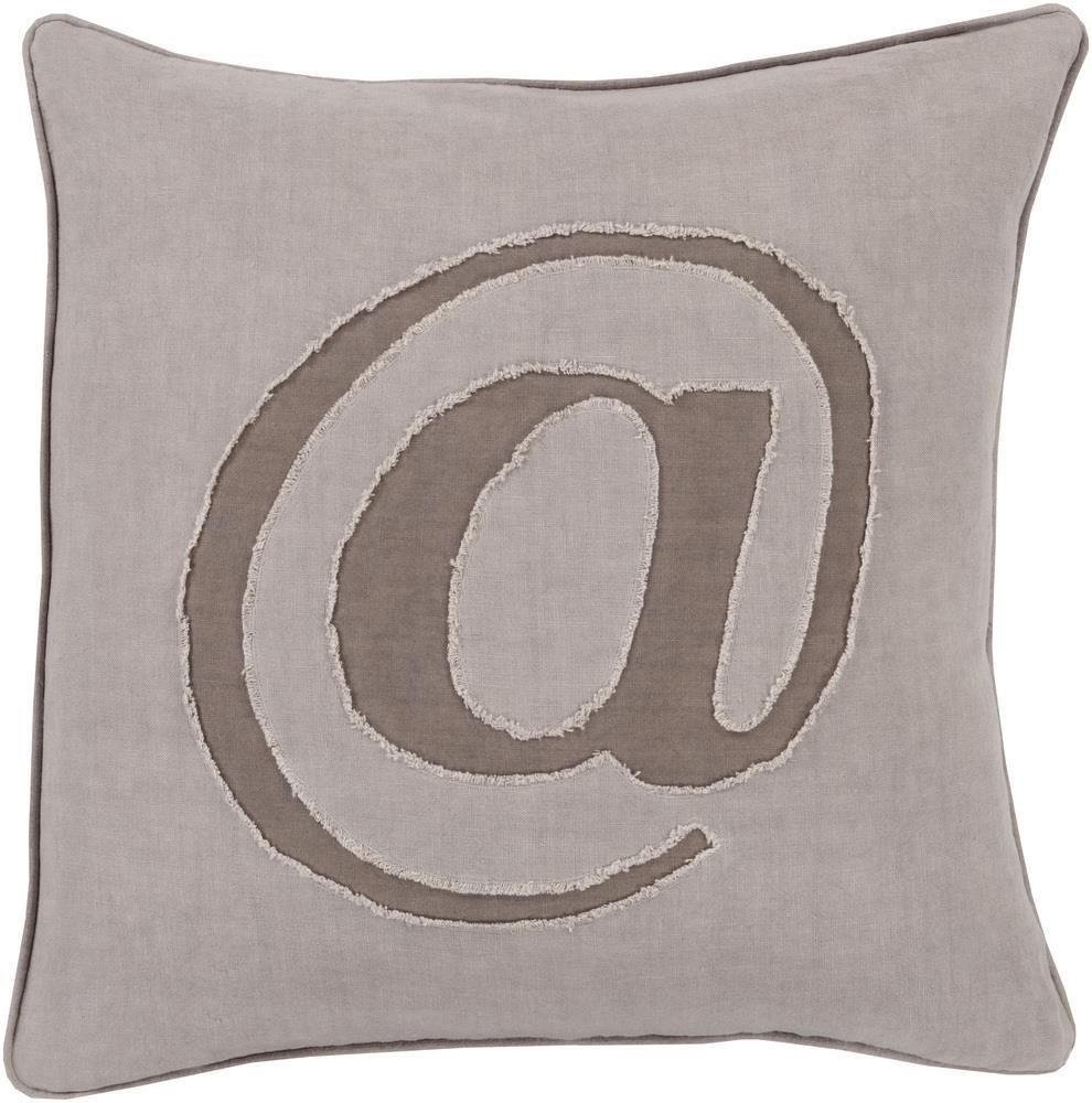 "Surya Rugs Pillows 20"" x 20"" Decorative Pillow - Item Number: LX003-2020P"