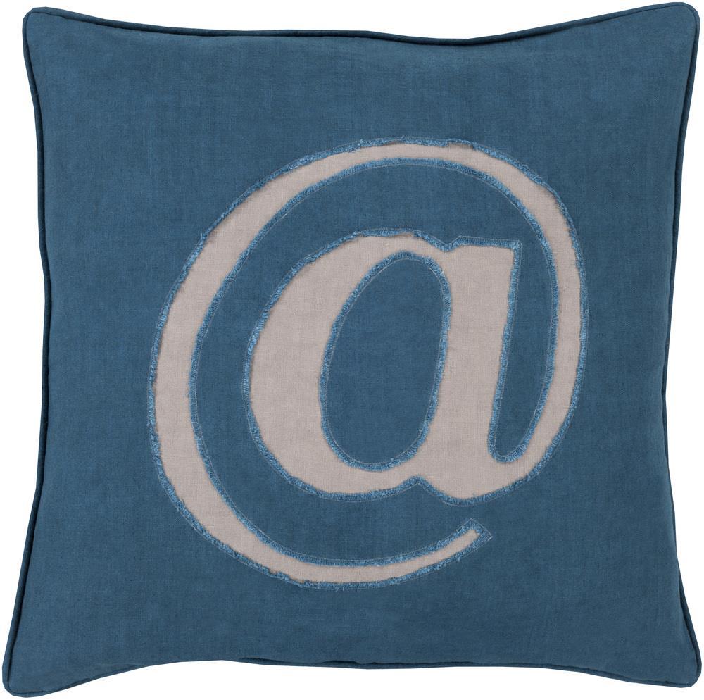 "Surya Rugs Pillows 18"" x 18"" Decorative Pillow - Item Number: LX004-1818P"