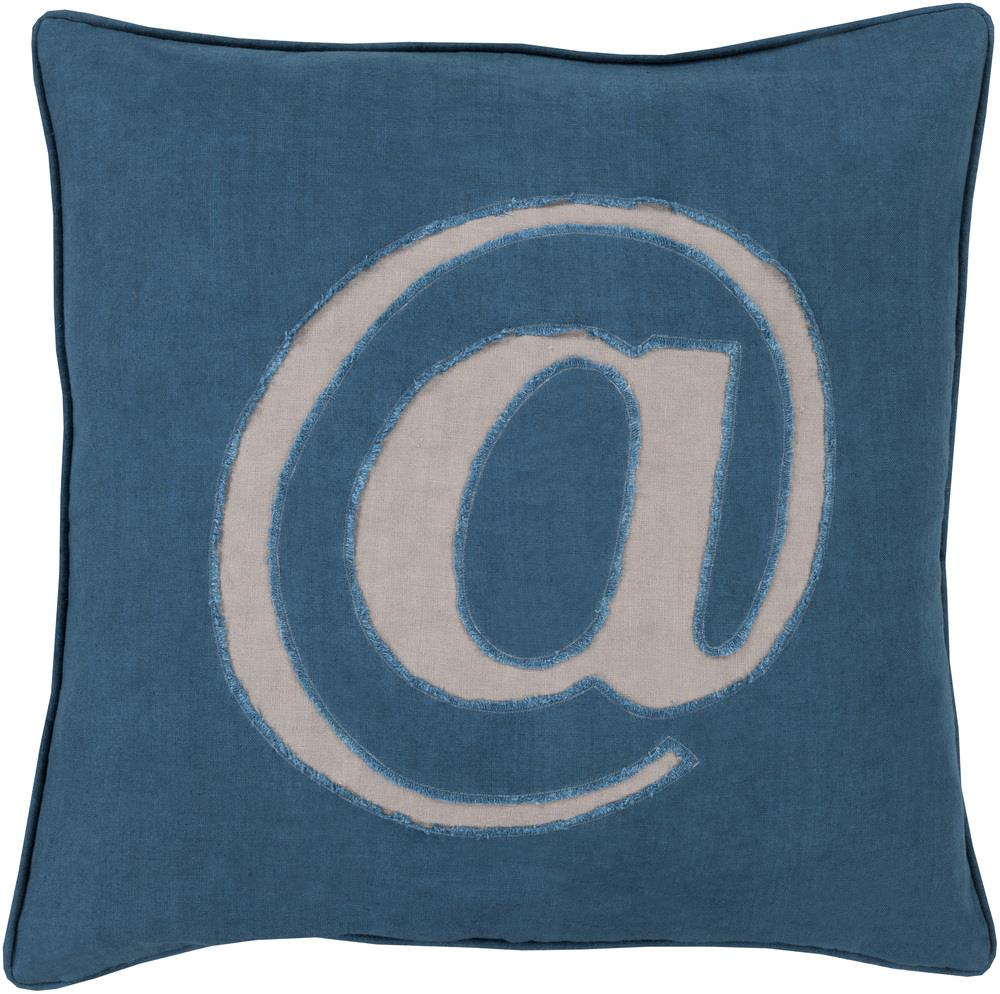 "Surya Rugs Pillows 20"" x 20"" Decorative Pillow - Item Number: LX004-2020P"