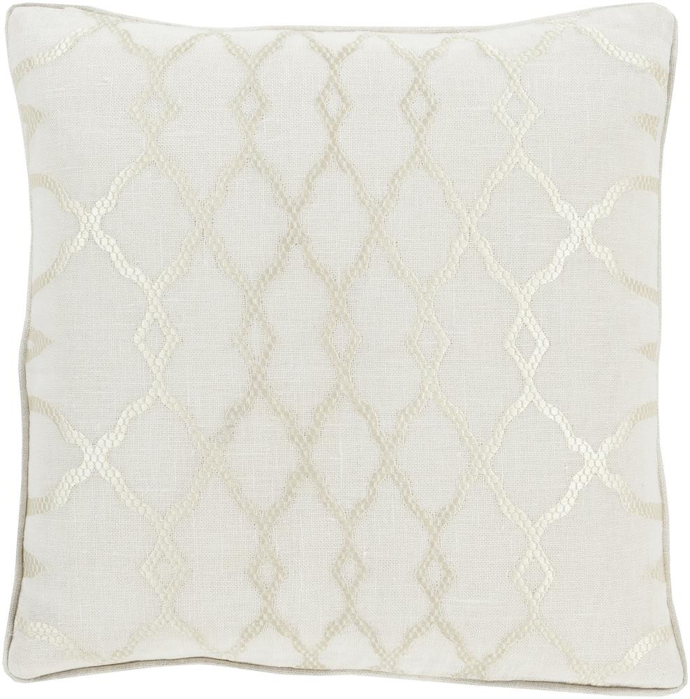 "Surya Pillows 20"" x 20"" Decorative Pillow - Item Number: LY001-2020P"
