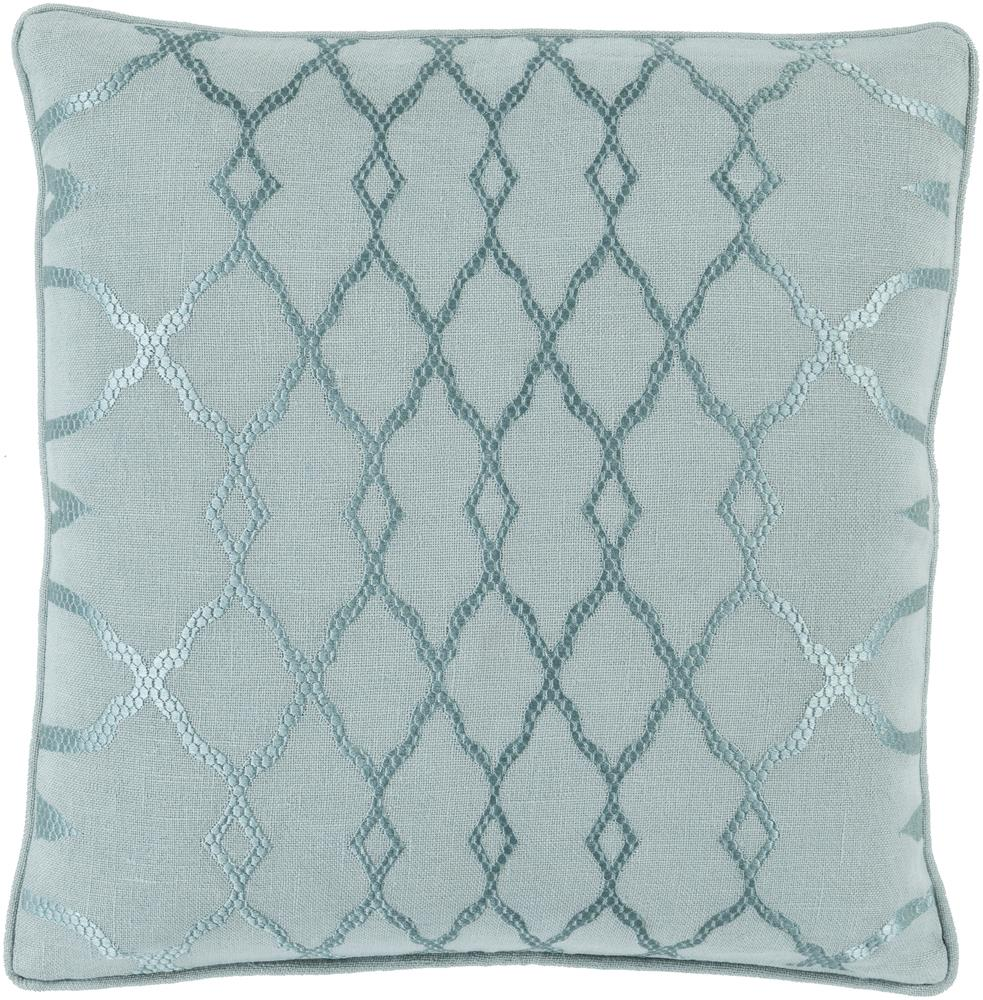 "Surya Pillows 20"" x 20"" Decorative Pillow - Item Number: LY002-2020P"