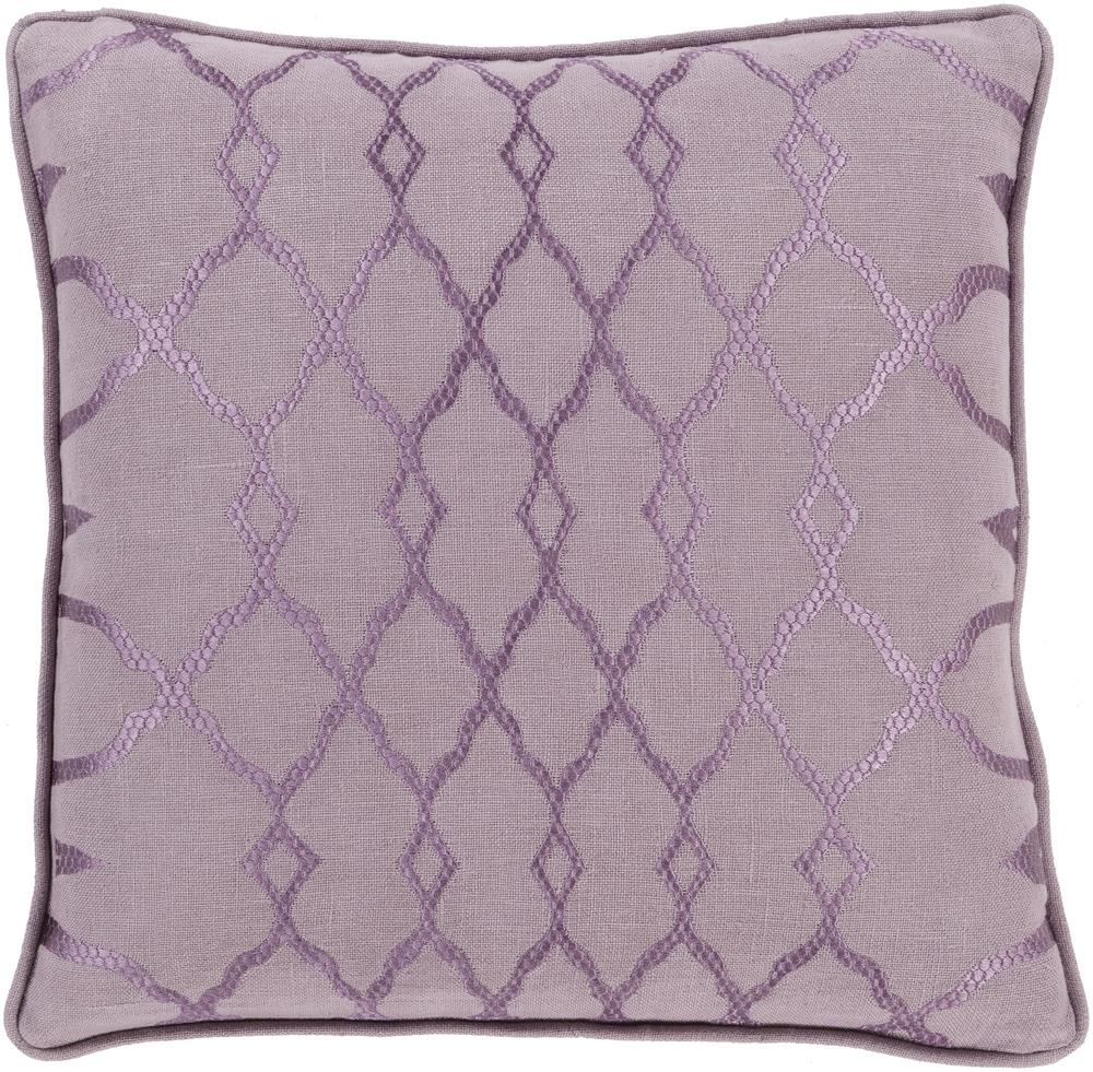 "Surya Pillows 18"" x 18"" Decorative Pillow - Item Number: LY003-1818P"