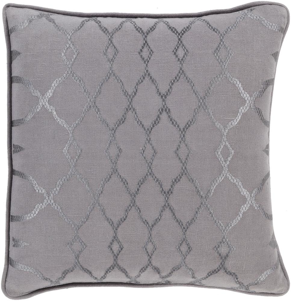 "Surya Pillows 22"" x 22"" Decorative Pillow - Item Number: LY004-2222P"