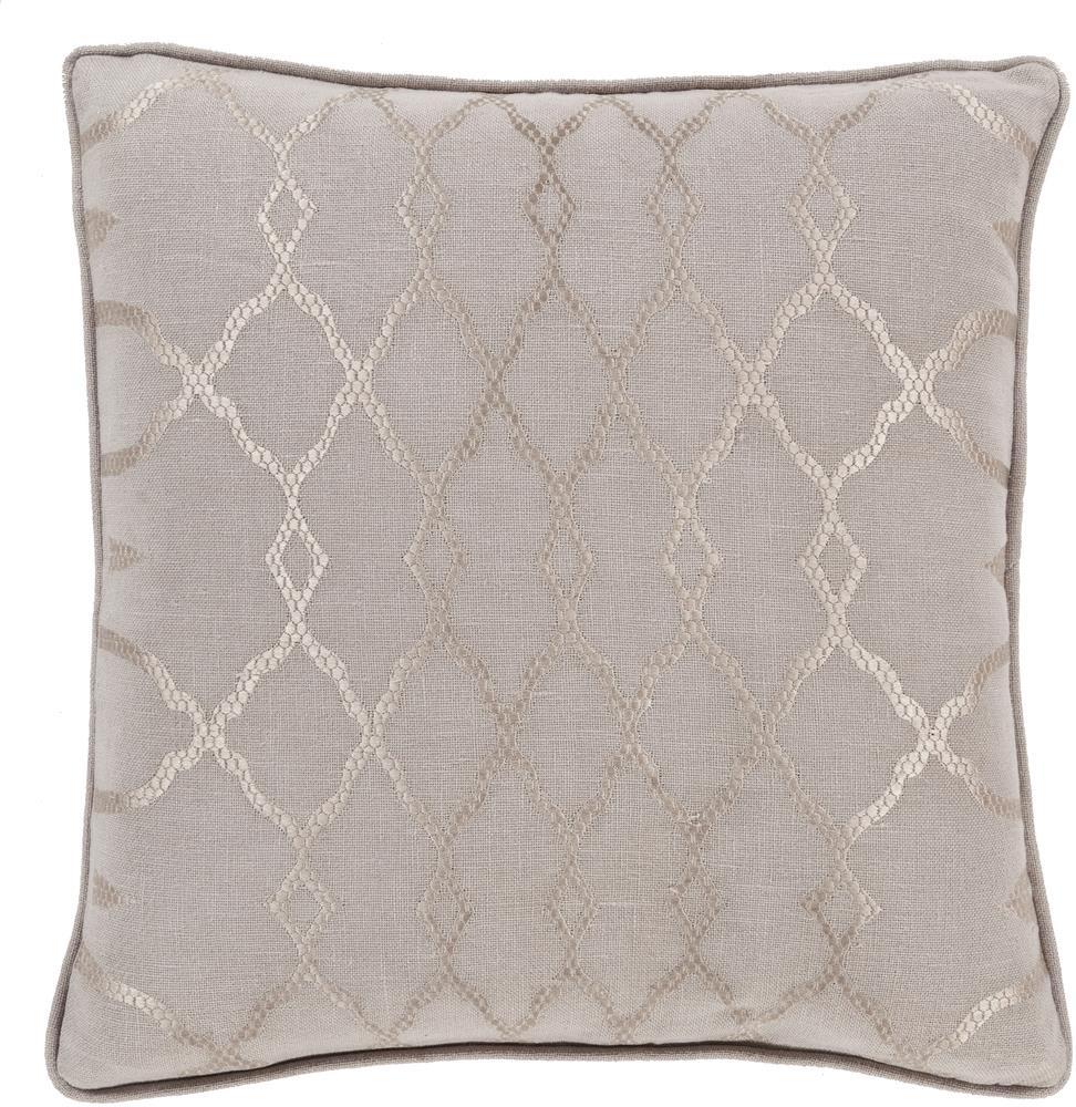 """Surya Pillows 18"""" x 18"""" Decorative Pillow - Item Number: LY005-1818P"""