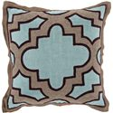 "Surya Pillows 18"" x 18"" Maze Pillow - Item Number: MCO001-1818P"