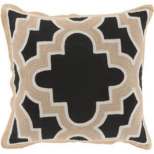 """Surya Rugs Pillows 20"""" x 20"""" Maze Pillow"""