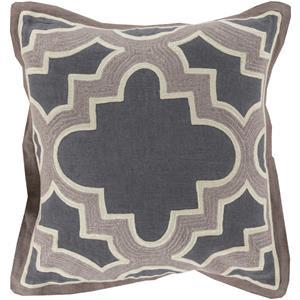 """Surya Rugs Pillows 22"""" x 22"""" Maze Pillow"""