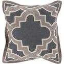 "Surya Pillows 22"" x 22"" Maze Pillow - Item Number: MCO003-2222P"