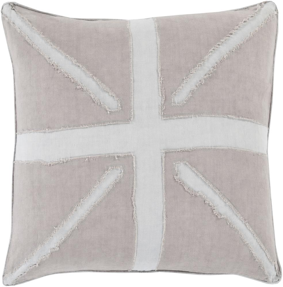 """Surya Rugs Pillows 18"""" x 18"""" Decorative Pillow - Item Number: MN001-1818P"""