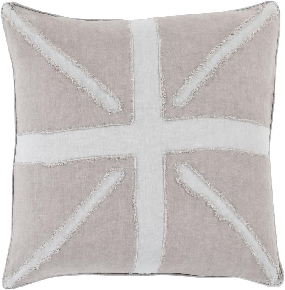 """Surya Rugs Pillows 22"""" x 22"""" Decorative Pillow - Item Number: MN001-2222P"""