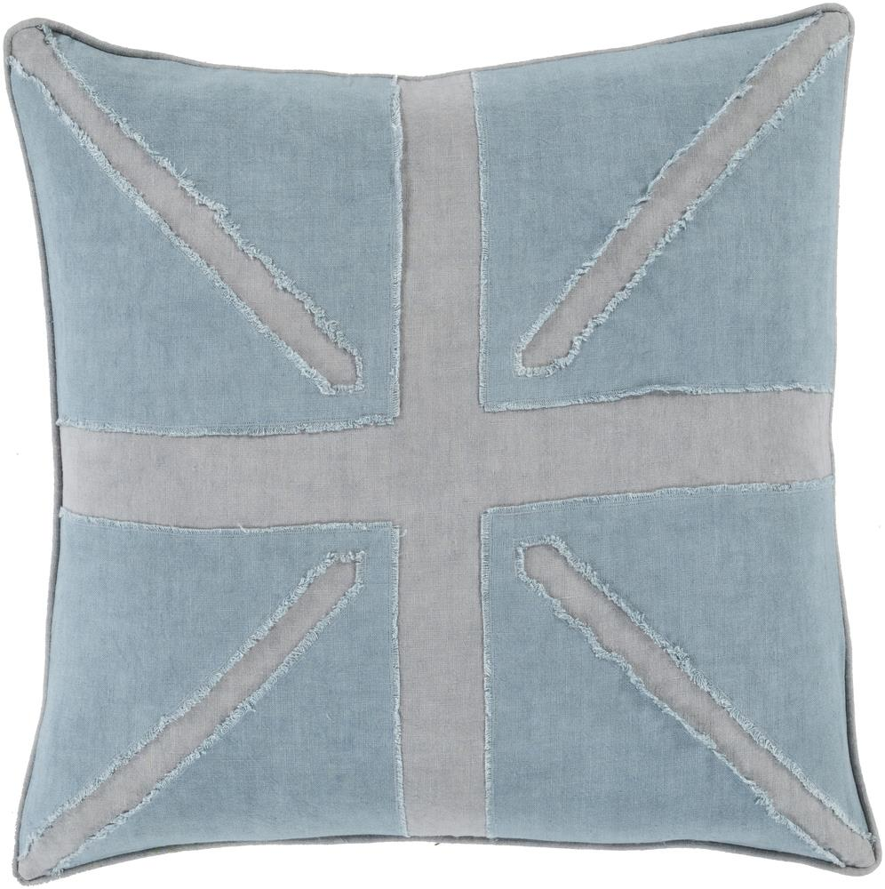 "Surya Pillows 18"" x 18"" Decorative Pillow - Item Number: MN002-1818P"