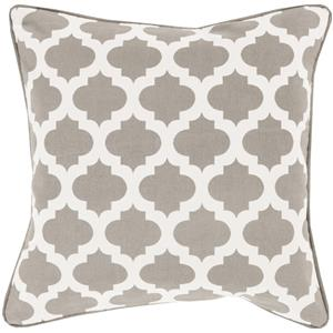 "18"" x 18"" Morrocan Printed Lattice Pillow"