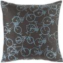 """Surya Rugs Pillows 18"""" x 18"""" Decorative Pillow - Item Number: PDP001-1818P"""