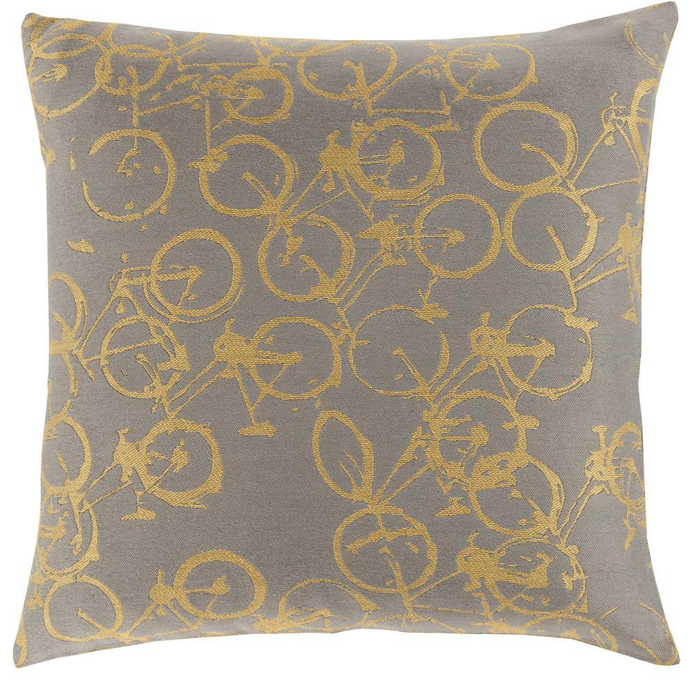 """Surya Pillows 18"""" x 18"""" Decorative Pillow - Item Number: PDP002-1818P"""