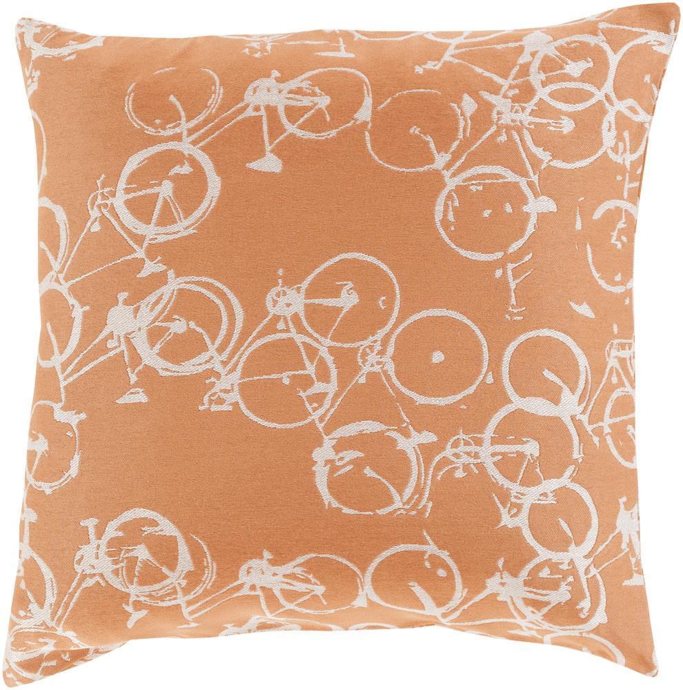 """Surya Rugs Pillows 18"""" x 18"""" Decorative Pillow - Item Number: PDP003-1818P"""