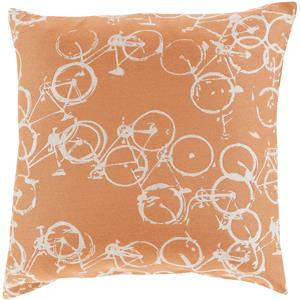 "Surya Rugs Pillows 22"" x 22"" Decorative Pillow"