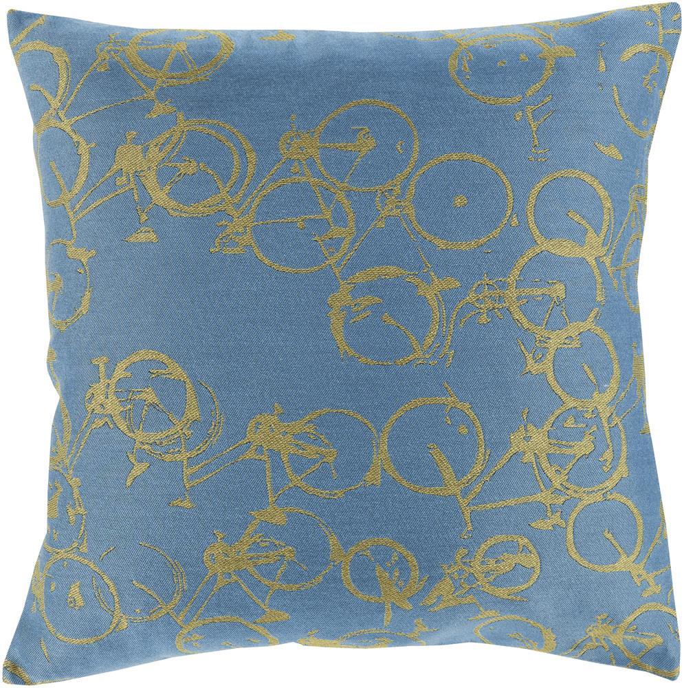 """Surya Rugs Pillows 22"""" x 22"""" Decorative Pillow - Item Number: PDP004-2222P"""