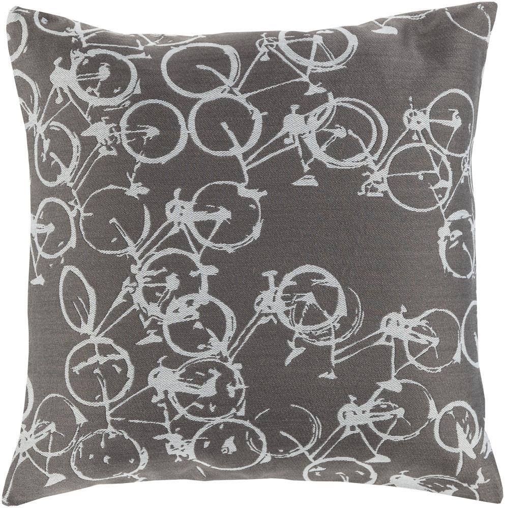"""Surya Rugs Pillows 20"""" x 20"""" Decorative Pillow - Item Number: PDP005-2020P"""