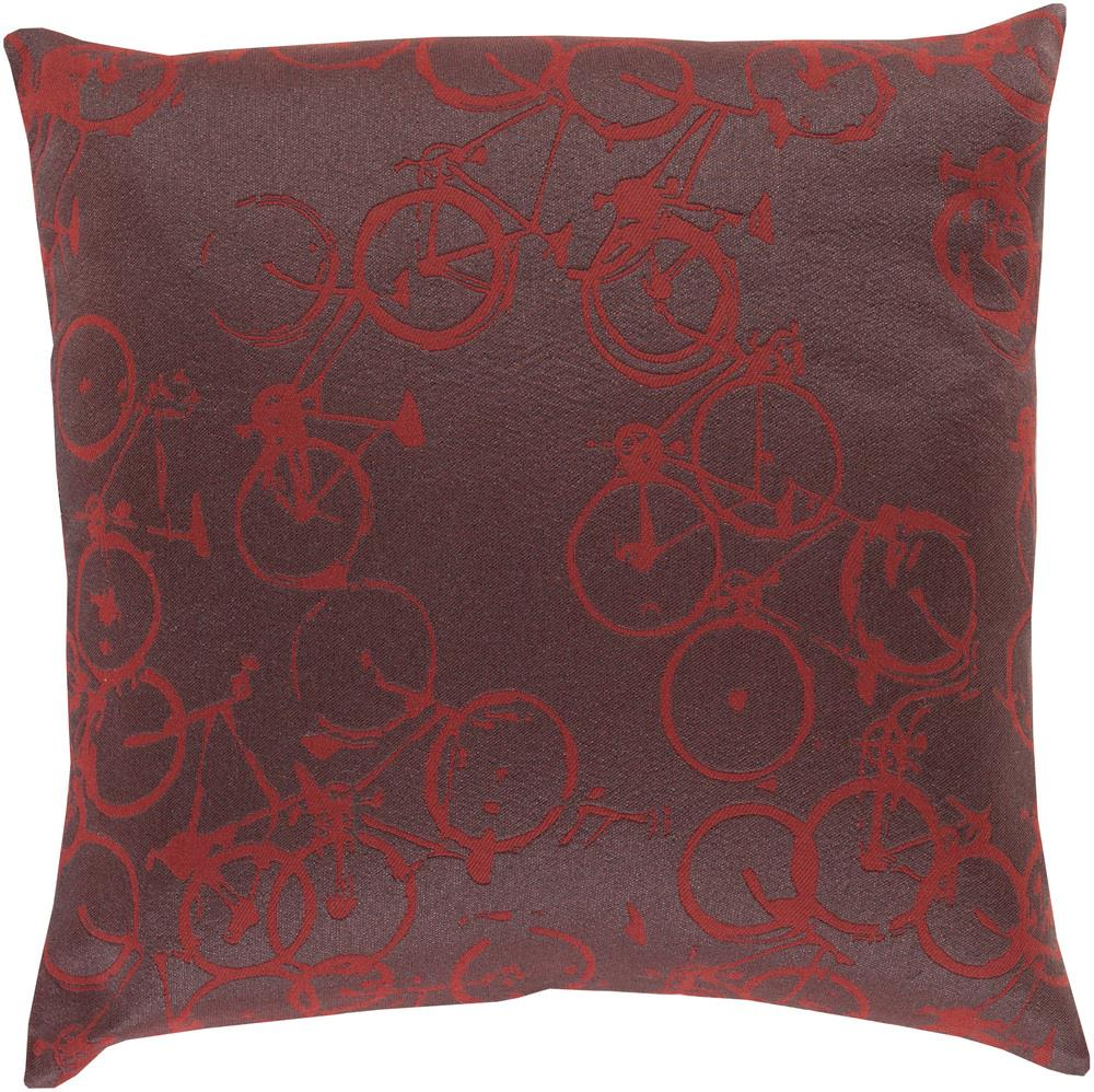 "Surya Rugs Pillows 18"" x 18"" Decorative Pillow - Item Number: PDP006-1818P"