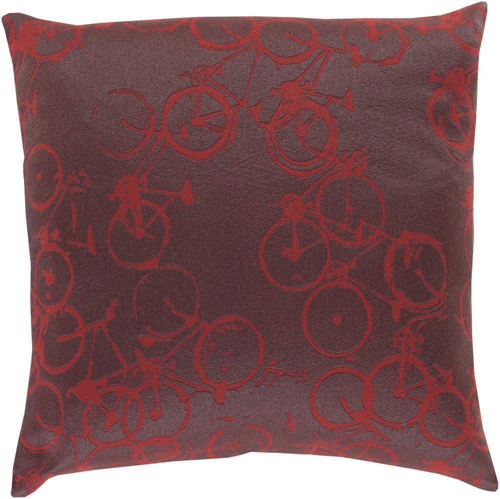 """Surya Rugs Pillows 22"""" x 22"""" Decorative Pillow - Item Number: PDP006-2222P"""