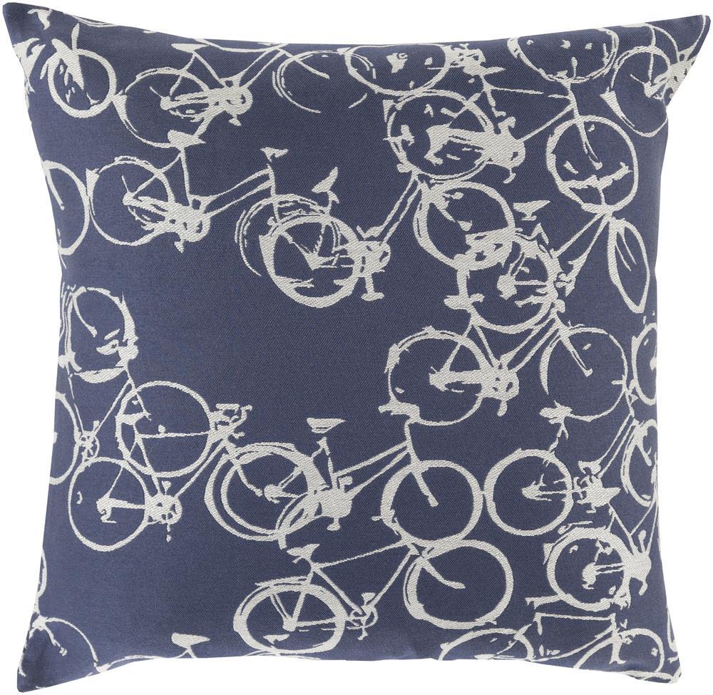 """Surya Rugs Pillows 18"""" x 18"""" Decorative Pillow - Item Number: PDP007-1818P"""