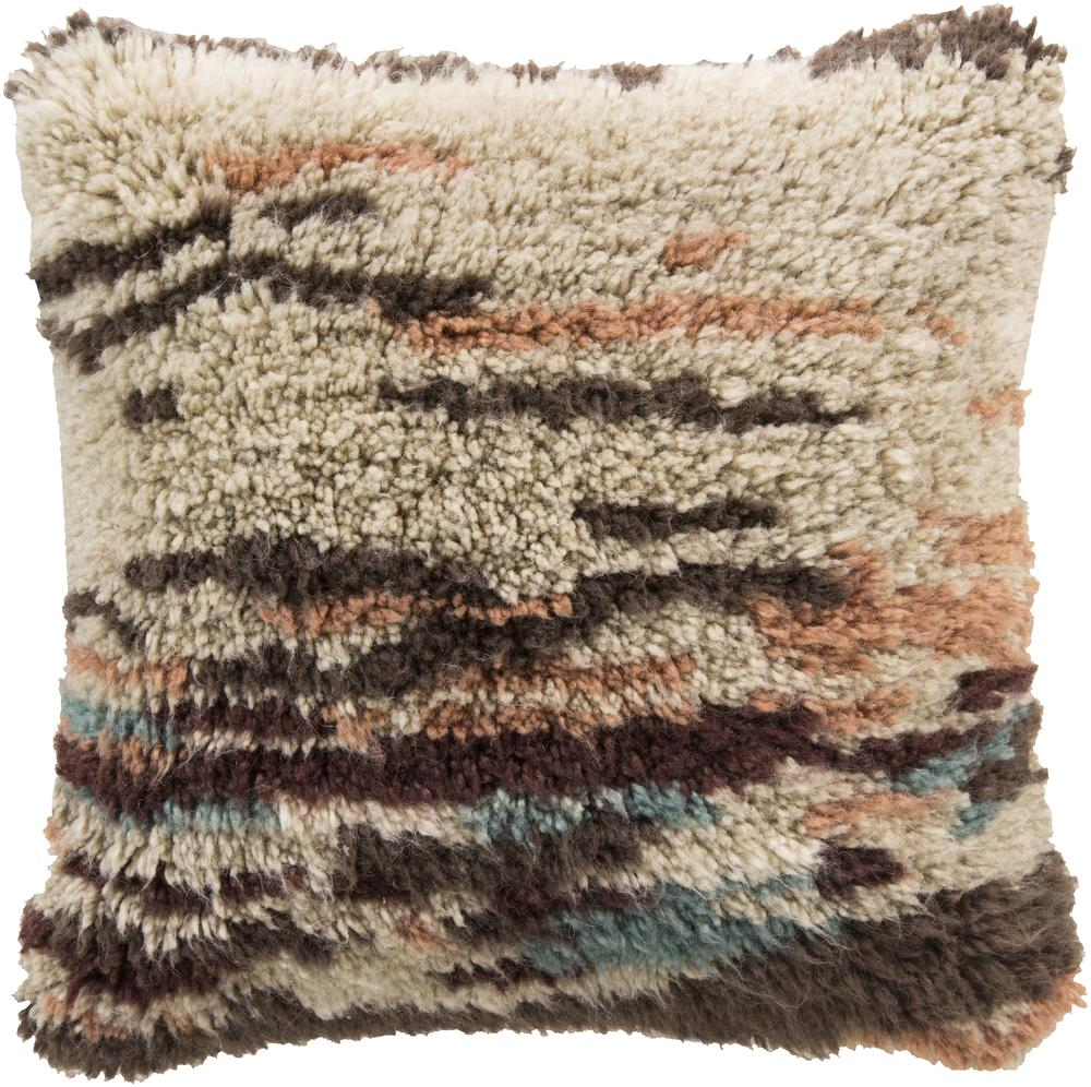 "Surya Rugs Pillows 22"" x 22"" Mammoth Pillow - Item Number: RC002-2222P"