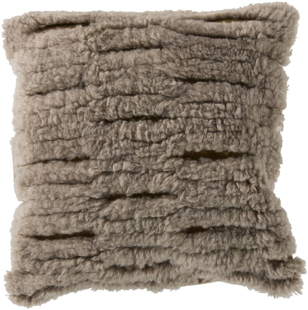 "Surya Rugs Pillows 22"" x 22"" Mammoth Pillow - Item Number: RC004-2222P"