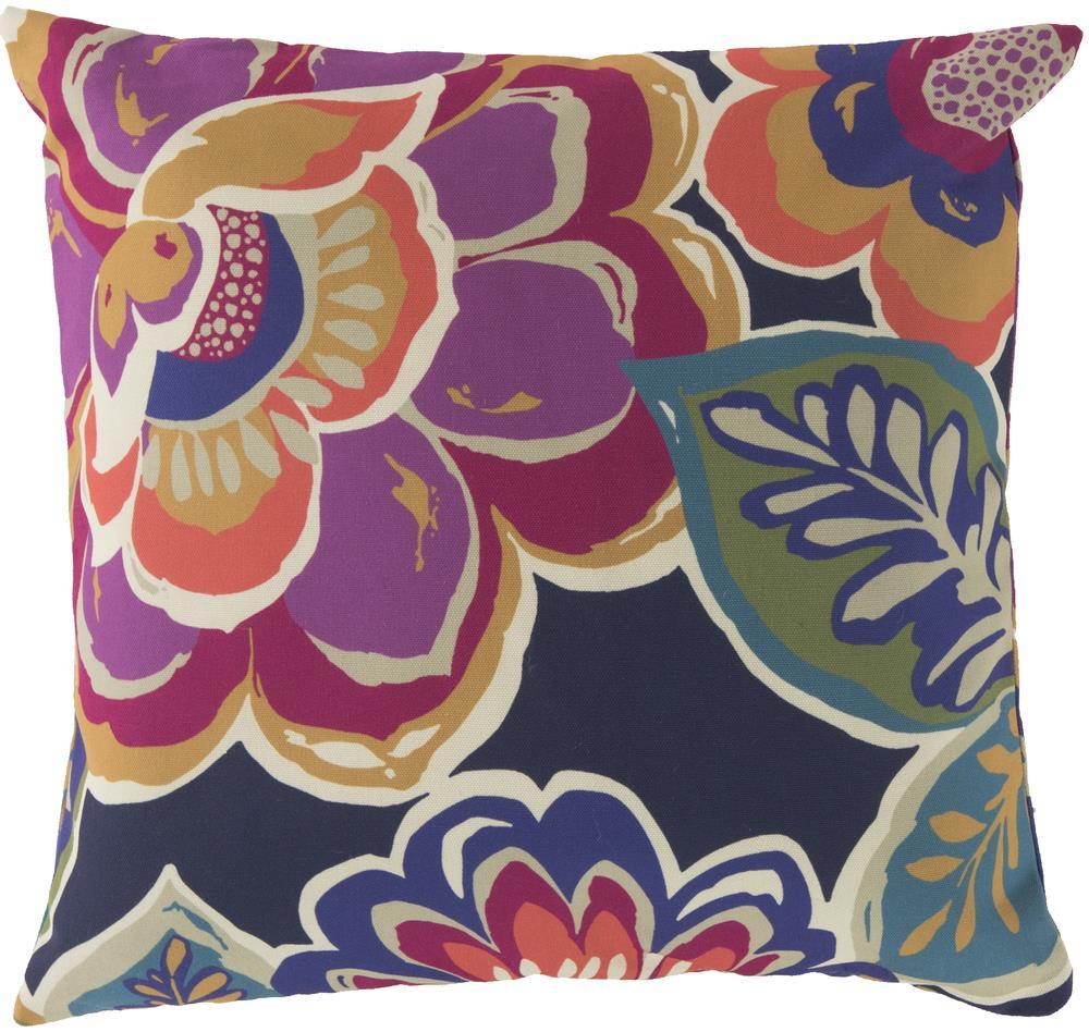 """Surya Rugs Pillows 18"""" x 18"""" Outdoor Safe Pillow - Item Number: RG006-1818"""