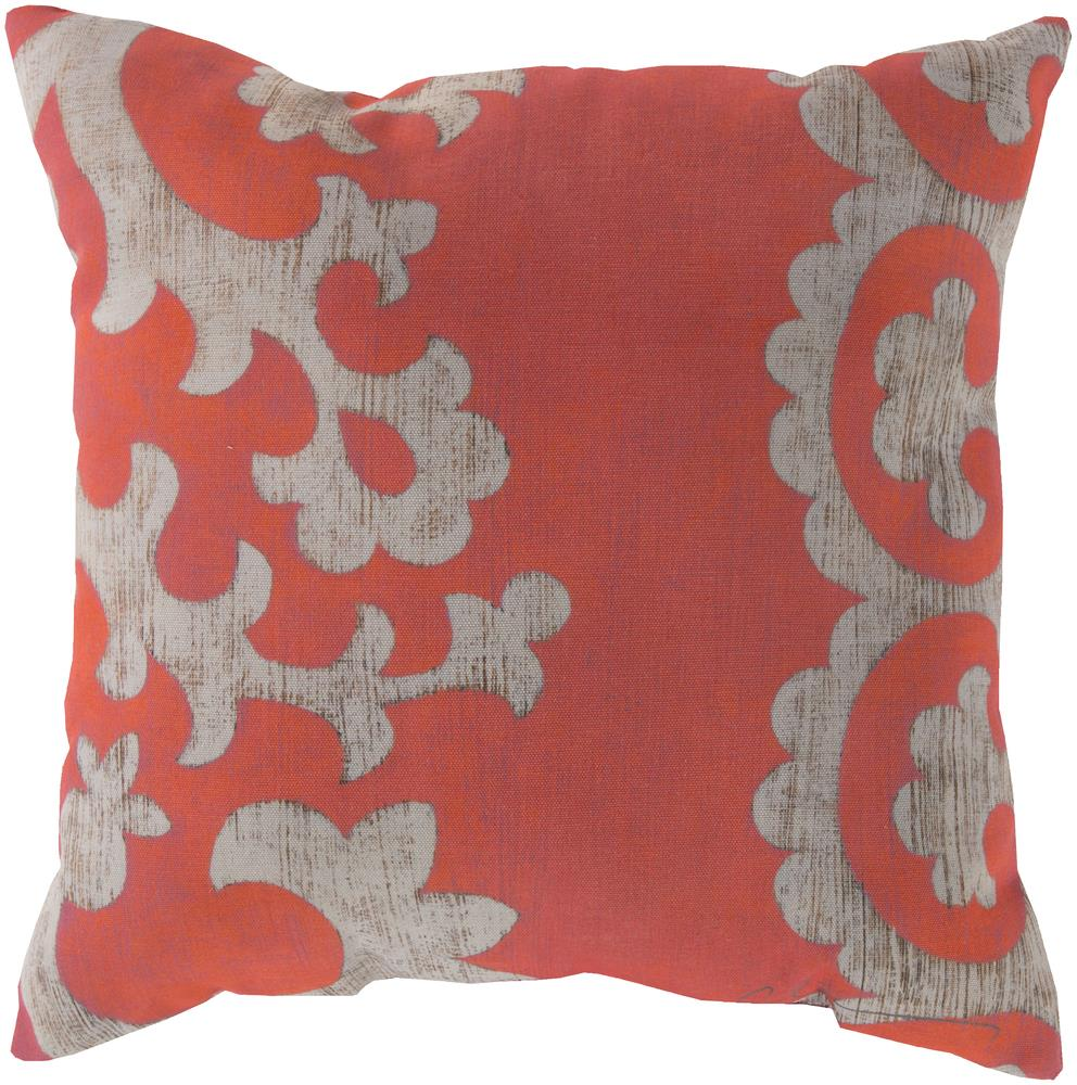 """Surya Rugs Pillows 18"""" x 18"""" Outdoor Safe Pillow - Item Number: RG023-1818"""