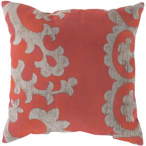 "Surya Rugs Pillows 18"" x 18"" Outdoor Safe Pillow"