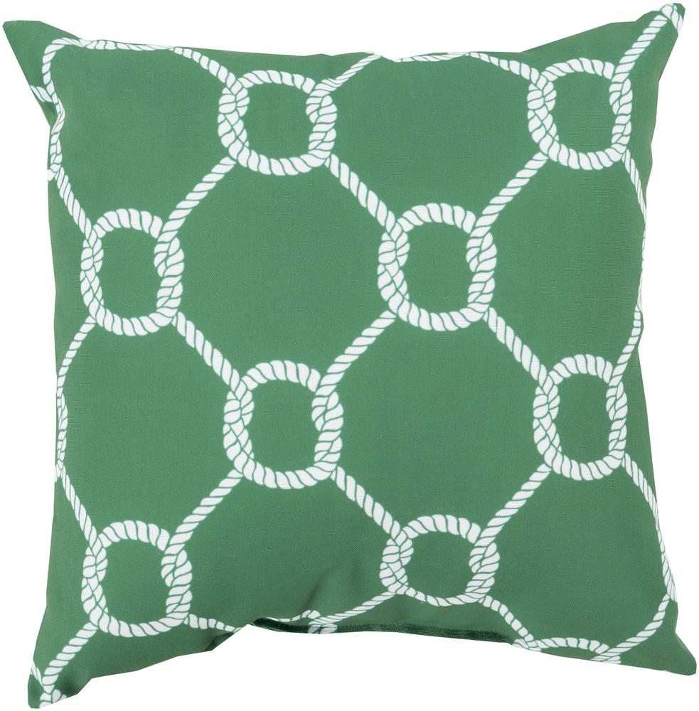 "Surya Pillows 18"" x 18"" Outdoor Safe Pillow - Item Number: RG143-1818"