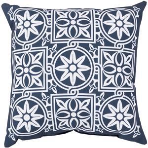 """Surya Rugs Pillows 18"""" x 18"""" Outdoor Safe Pillow"""