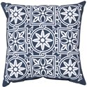 "Surya Rugs Pillows 18"" x 18"" Outdoor Safe Pillow - Item Number: RG175-1818"