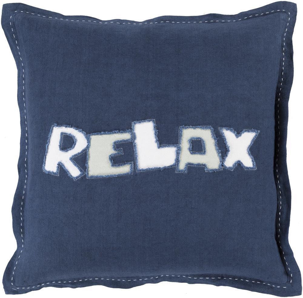 """Surya Pillows 22"""" x 22"""" Decorative Pillow - Item Number: RX001-2222P"""