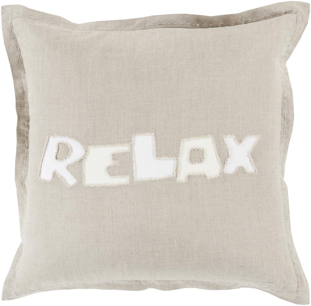 "Surya Pillows 20"" x 20"" Decorative Pillow - Item Number: RX002-2020P"