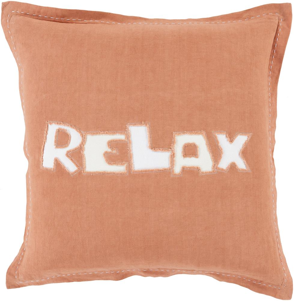 "Surya Pillows 20"" x 20"" Decorative Pillow - Item Number: RX003-2020P"