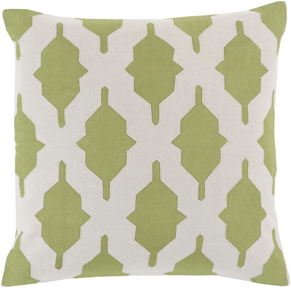 "Surya Pillows 18"" x 18"" Decorative Pillow - Item Number: SA002-1818P"