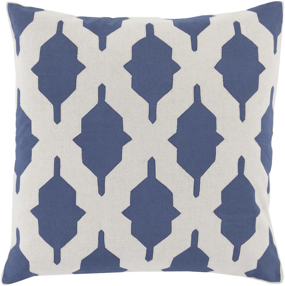 """Surya Rugs Pillows 22"""" x 22"""" Decorative Pillow - Item Number: SA003-2222P"""