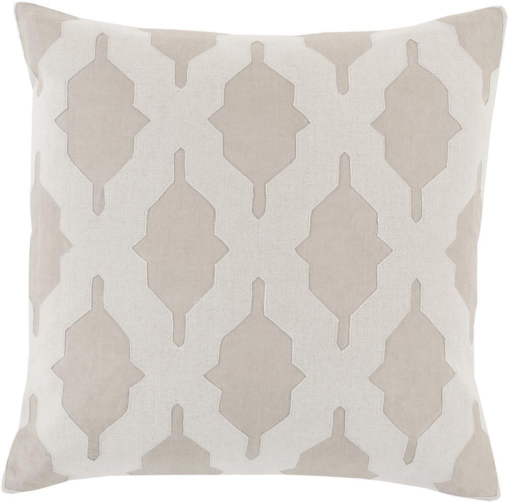 """Surya Pillows 18"""" x 18"""" Decorative Pillow - Item Number: SA005-1818P"""