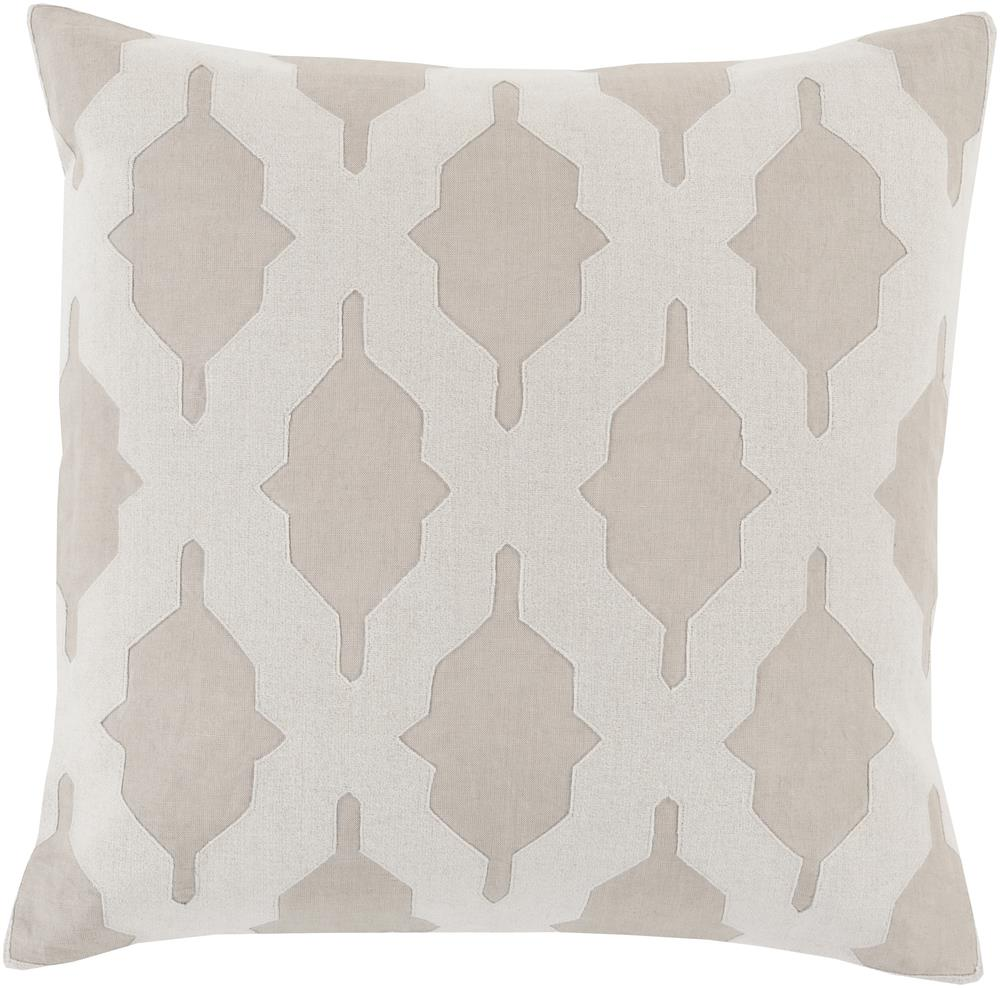 "Surya Pillows 20"" x 20"" Decorative Pillow - Item Number: SA005-2020P"